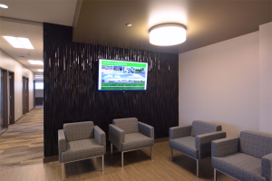 I + S Group Office Guest Seating Area