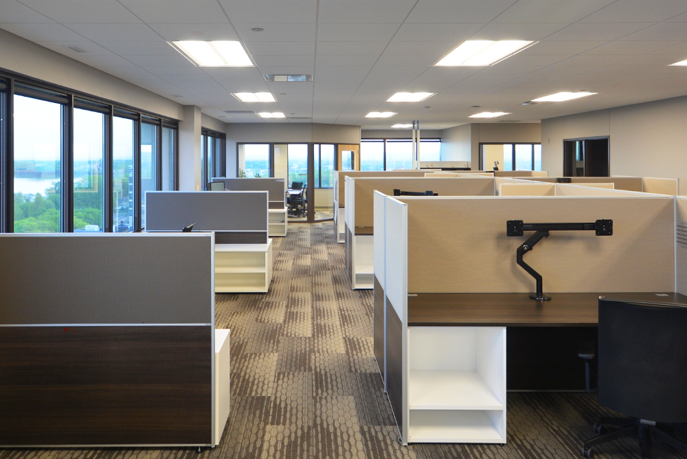 I + S Group Open Office Space