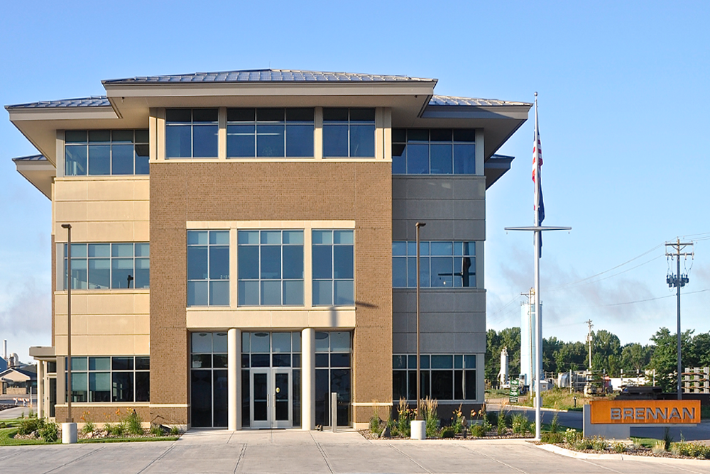 J.F. Brennan Company, Inc. Headquarters Exterior