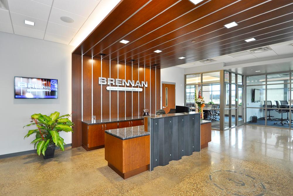 JF Brennan Company Inc Headquarters Main Lobby