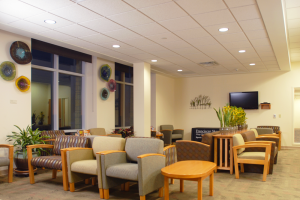 Mayo Clinic Health System - Sparta Clinic Patient Lounge Area