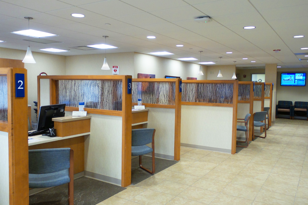 Mayo Clinic Health System  - Tomah Clinic Patient Reception Area