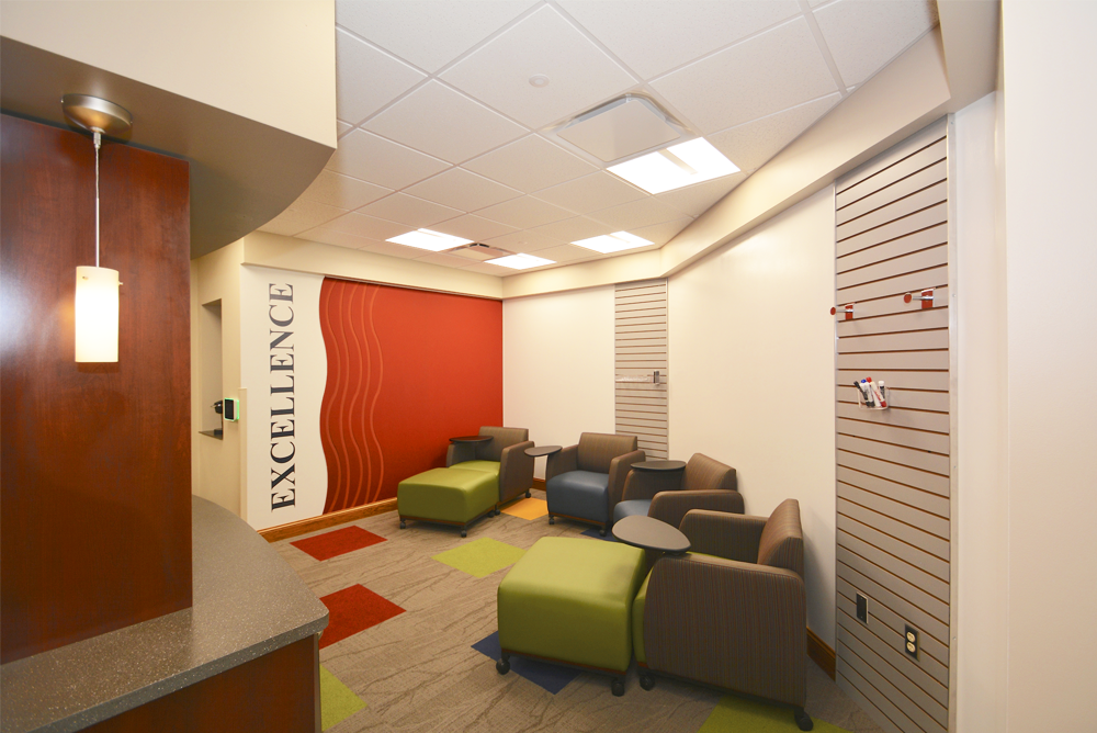 Marine Credit Union Administration Building Collaboration Area