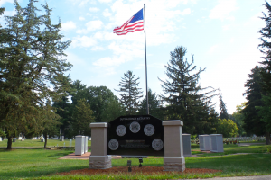 Oak Grove Cemetery Veterans Monument