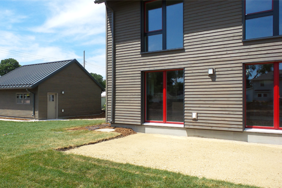 Western Technical College Passive House Exterior