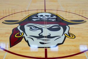 De Soto Middle/High School Gym Floor Logo