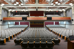 University of Wisconsin - La Crosse Graff Main Hall Auditorium Seating