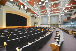 University of Wisconsin - La Crosse Graff Main Hall Stage/Seating View
