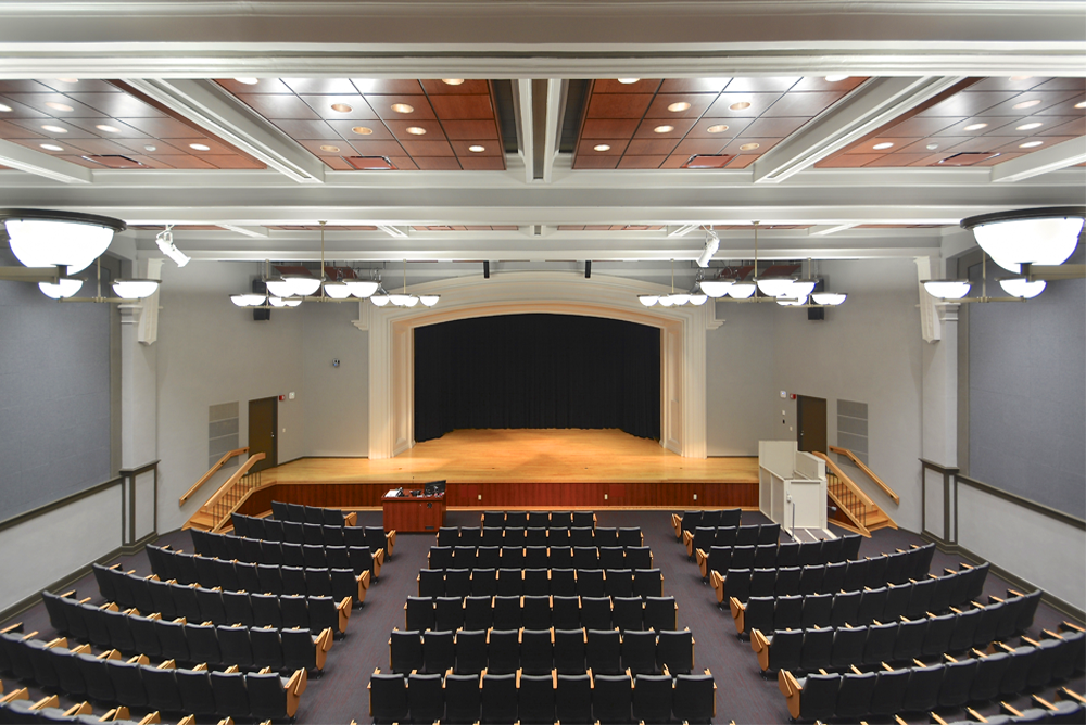 University of Wisconsin - La Crosse Graff Main Hall Stage View