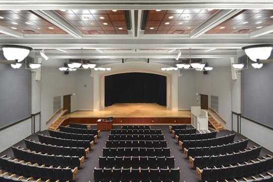 University of Wisconsin - La Crosse Graff Main Hall Auditorium