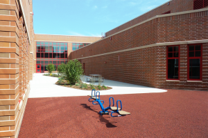 Northside Elementary School Interior Courtyard