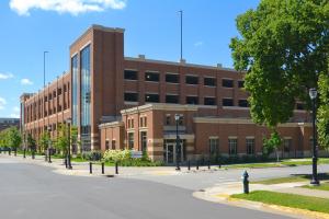 UW-L Campus Parking Ramp Exterior 3