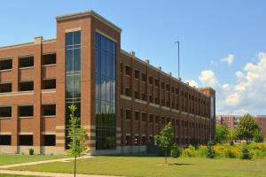 UW-L Campus Parking Ramp Exterior 2
