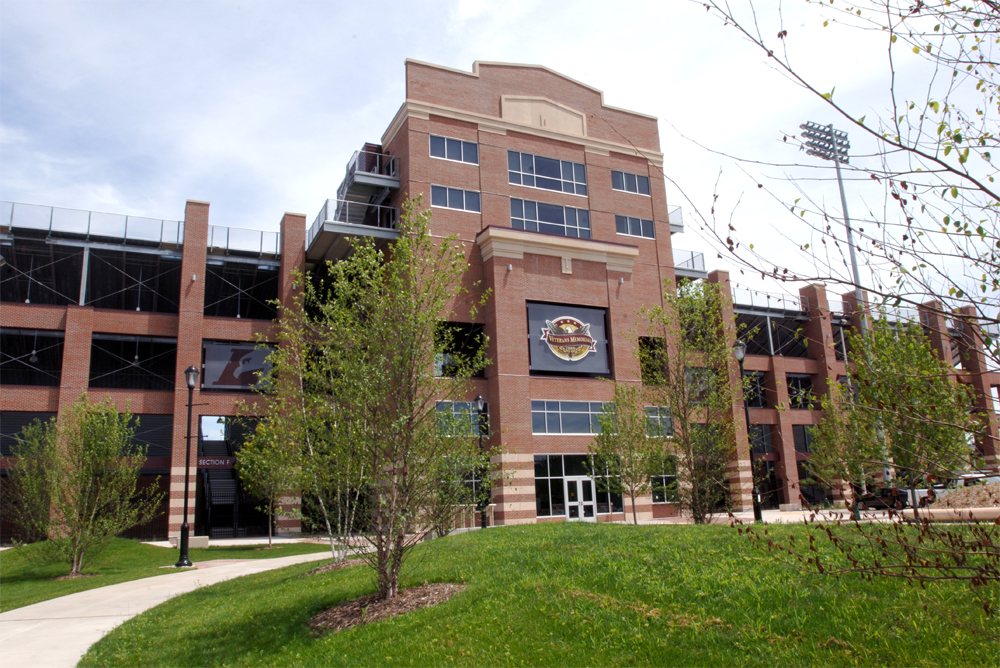 UW-L Stadium & Fields Sports Complex Main Entrance