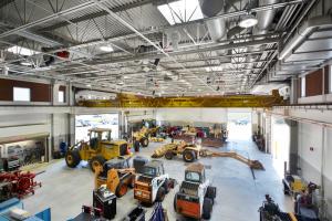 WTC Diesel & Heavy Equipment Technology Center Equipment Bay