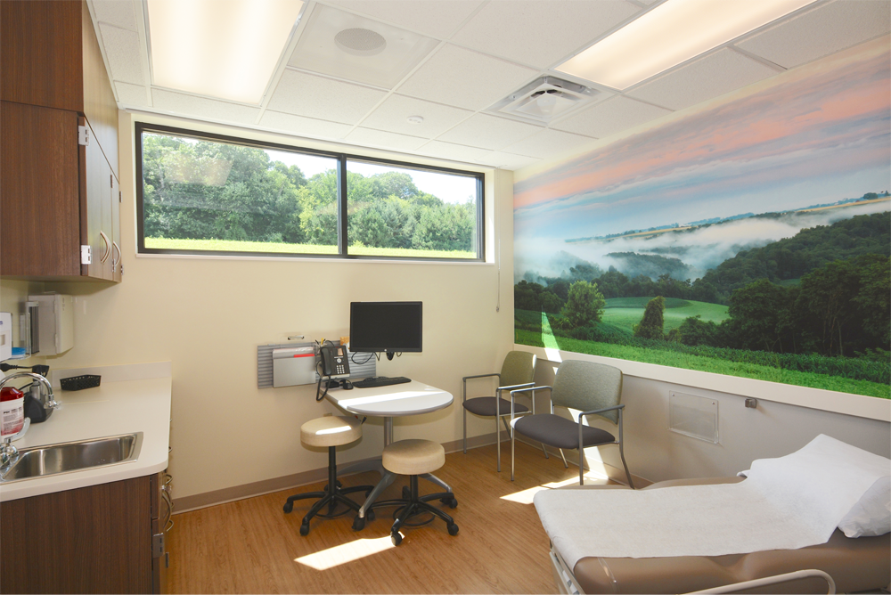 Mayo Clinic Health System - Arcadia Clinic Exam Room