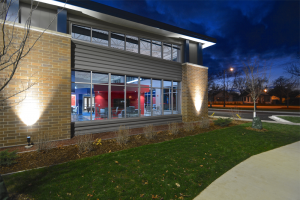 Boys & Girls Clubs of Greater La Crosse Nighttime Exterior 3