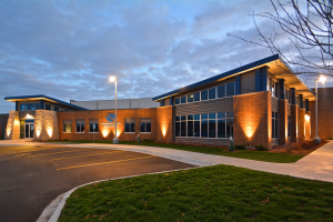 Boys & Girls Clubs of Greater La Crosse Nighttime Exterior 4