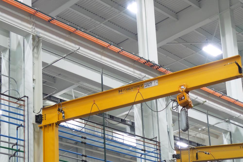 Chart Industries Overhead Crane 2