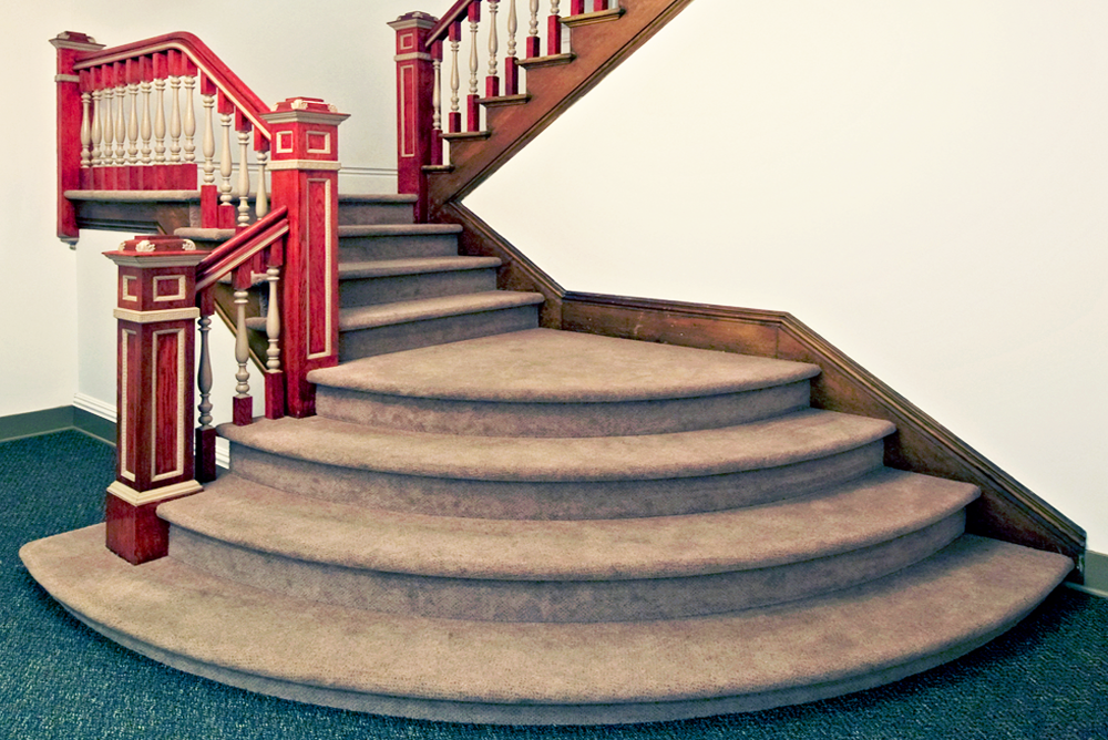 Christ Episcopal Church Staircase