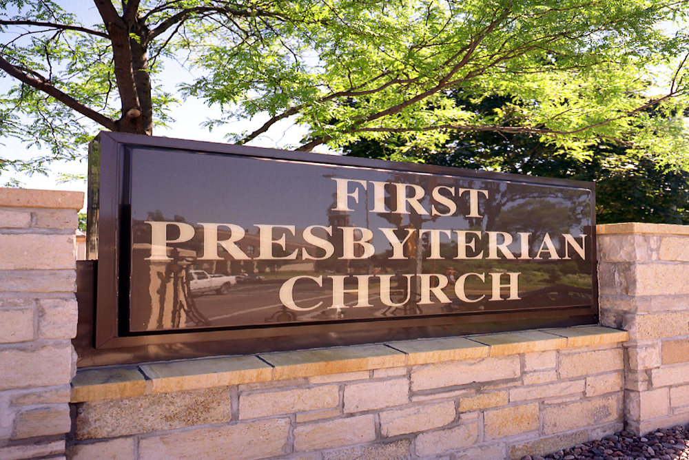 First Presbyterian Church Monument Sign