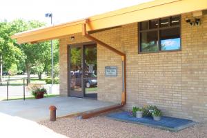 F.J. Robers Library Main Entrance