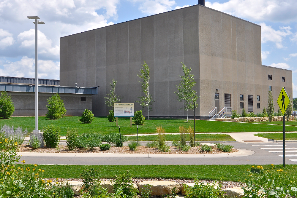 Gundersen Health System - Biomass Boiler Exterior