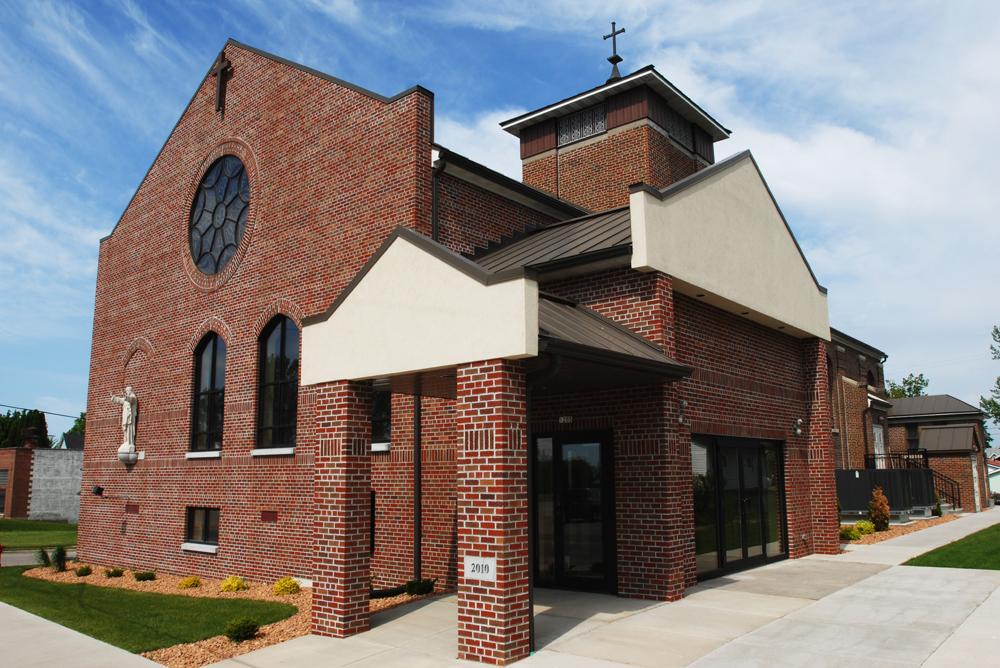 Sacred Heart Parish Main Entrance