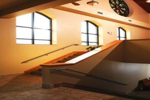 Sacred Heart Parish Stairwell