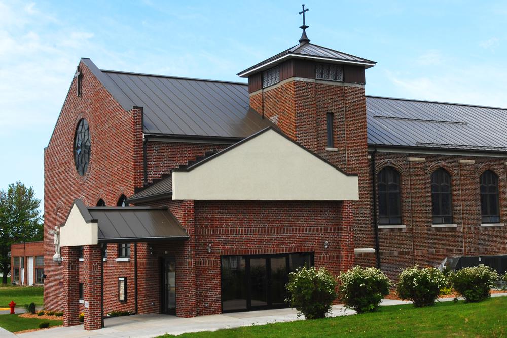 Sacred Heart Parish Main Exterior