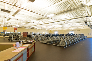 R.W. Houser Family YMCA Cardio Equipment