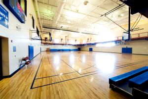 R.W. Houser Family YMCA Main Gymnasium