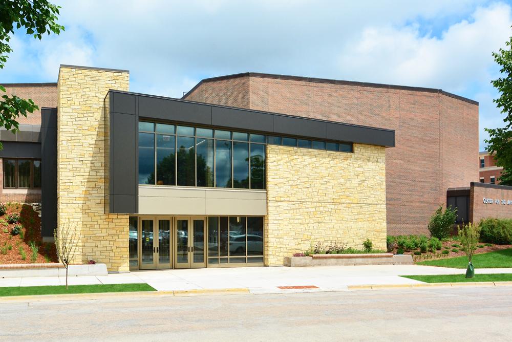 UW-La Crosse Center for the Arts Exterior