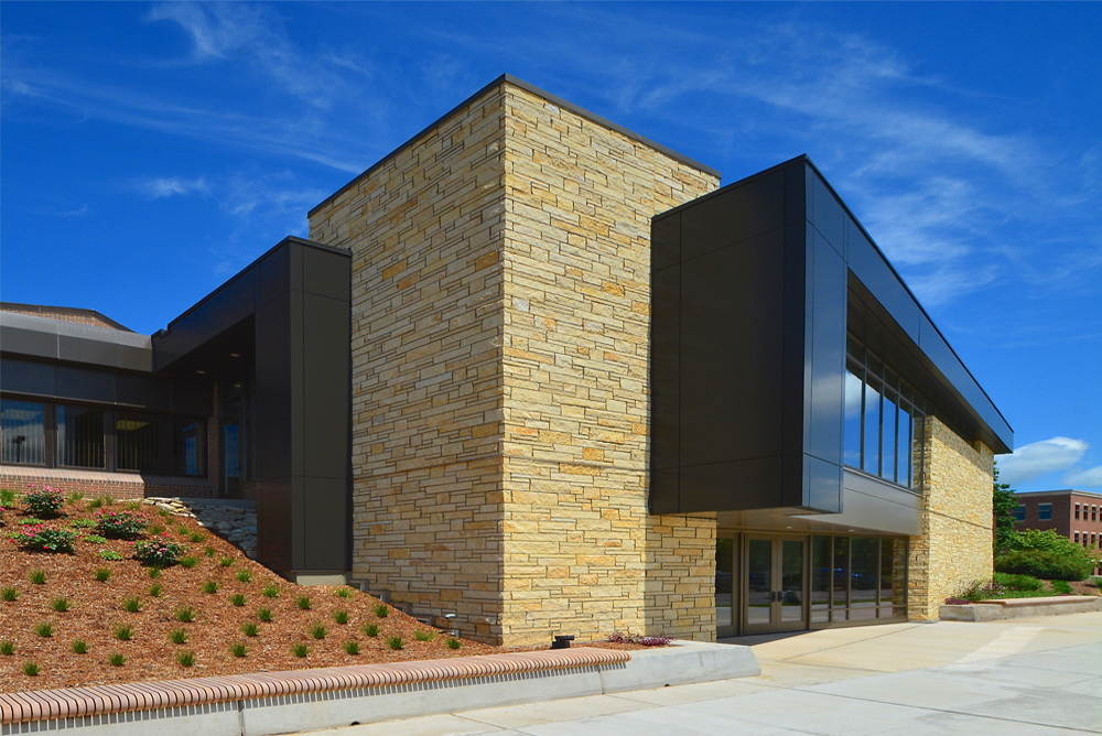 UW-La Crosse Center for the Arts Exterior 2