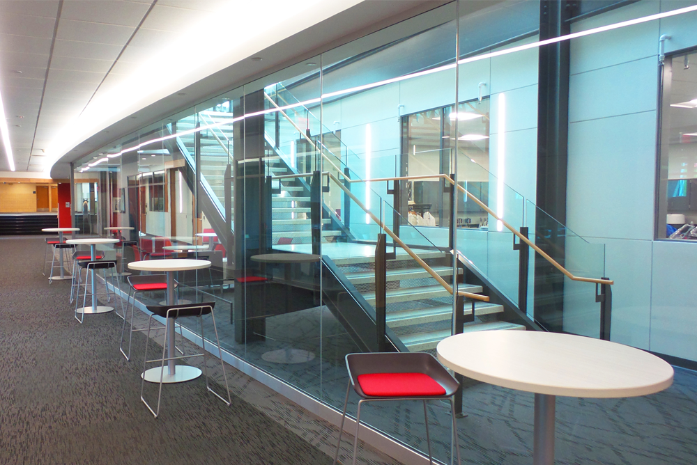 St. Mary's University - Science & Learning Center Study Area