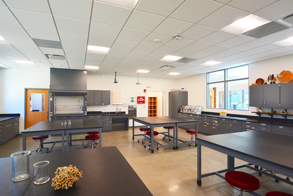 SMU Science & Learning Center - Laboratory