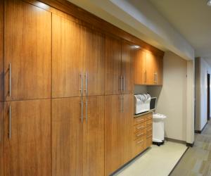 Main Street Dental La Crosse, WI Clinic Hallway/Storage Area