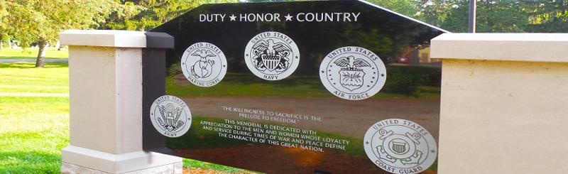 Oak Grove Cemetery Veterans Monument