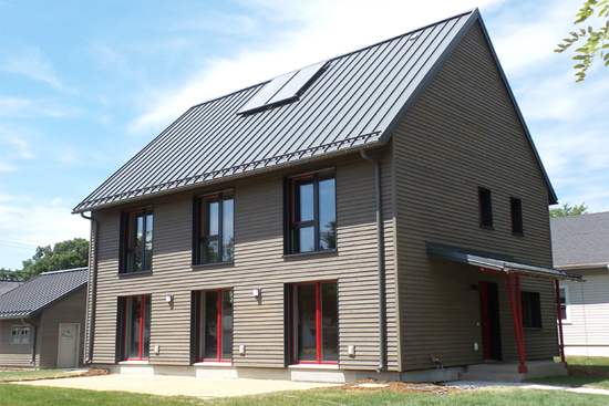 Western Technical College - Passive House Exterior