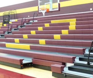 De Soto Middle/High School Gym Bleachers 2