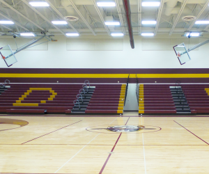De Soto Middle/High School Gym Bleachers