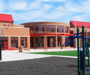 Northside Elementary School Outdoor Play Area