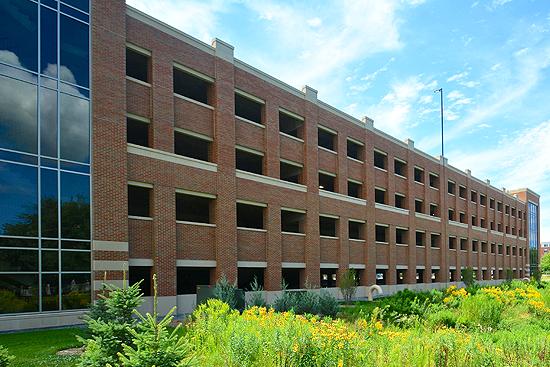 University of Wisconsin - La Crosse Campus Parking Ramp