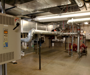 UW-L Stadium & Fields Sports Complex Mechanical Room