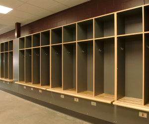 UW-L Stadium & Fields Sports Complex Locker Room