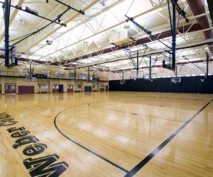 Viterbo University - Amie L. Mathy Center for Recreation & Education Court