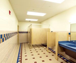 Viterbo University - Amie L. Mathy Center for Recreation & Education Restroom