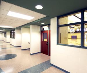 Viterbo University - Amie L. Mathy Center for Recreation & Education Hallway