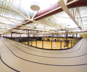 Viterbo University - Amie L. Mathy Center for Recreation & Education Interior Track