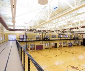 Viterbo University - Amie L. Mathy Center for Recreation & Education Interior Track 2